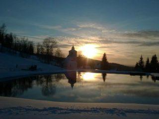 západ slunce čenkovice