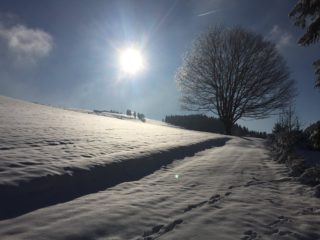 nádherná zima v čenkovicích