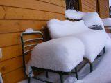 penzion čenkovice skála v zimě