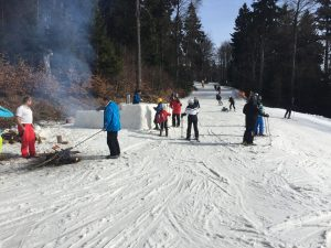 na lyžích do čenkovic