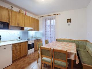 apartmán 4 - kuchyně