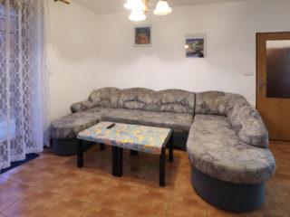 apartmán 4 - posezení