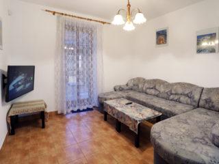 apartmán 4 - obývací pokoj