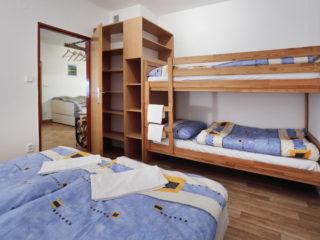 apartmán 3 - postele