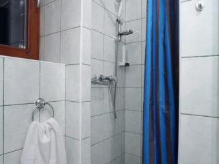 apartmán 3 - sprchový kout