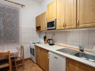 apartmán 1 - kuchynka
