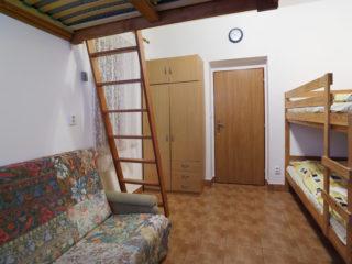 apartmán 1 - pohovka
