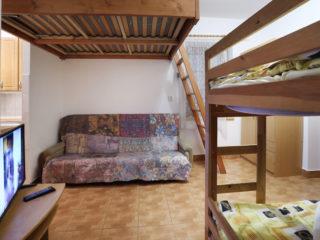 apartmán 1 - patro na spaní
