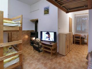 apartmán 1 - televize