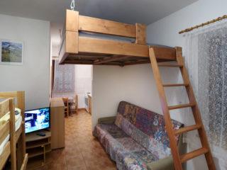 apartmán 1 v penzionu skála