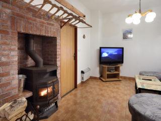 apartmán 2 - obývací prostor