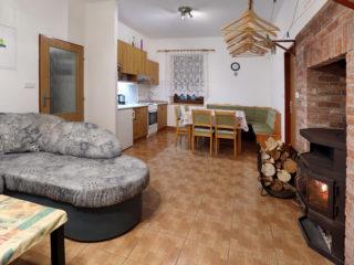 apartmán 2 - průhled