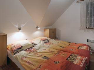 apartmán 5 - ložnice