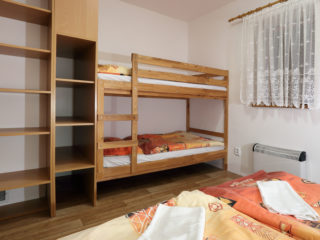 apartmán 5 - ložnice pro 4