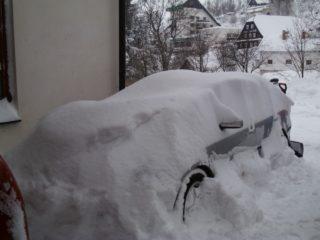 penzion čenkovice a sníh