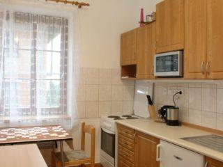 kuchyňská linka apartmánu 1
