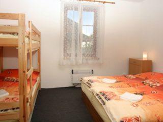 ložnice pro 4 osoby apartmán 3