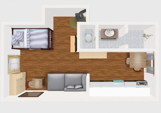apartmán 1 malý