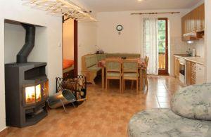 Malý apartmán v penzionu Skála